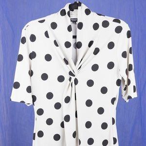 Adorable polka dotted Premise (Nordstrom) blouse